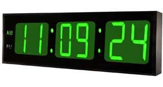 DBTech Digital Clock Green